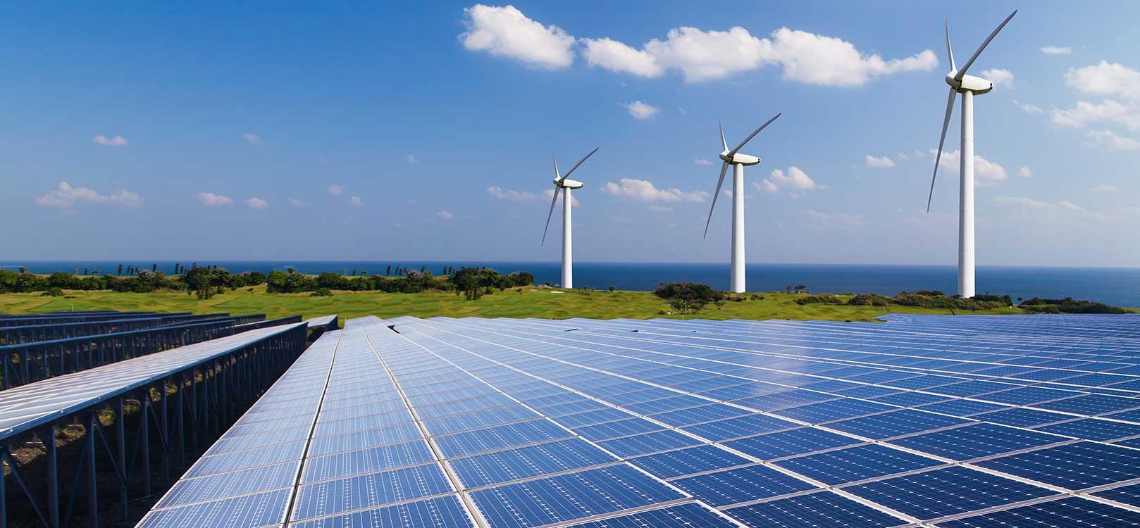 energía eólica, molinos, viento, energías renovables, solar