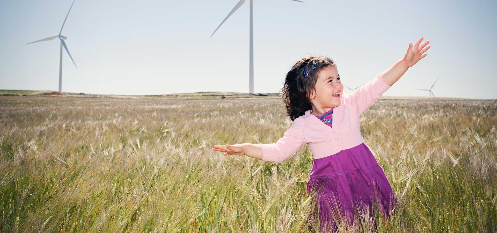 energía renovable, ahorro de energía, energía eólica